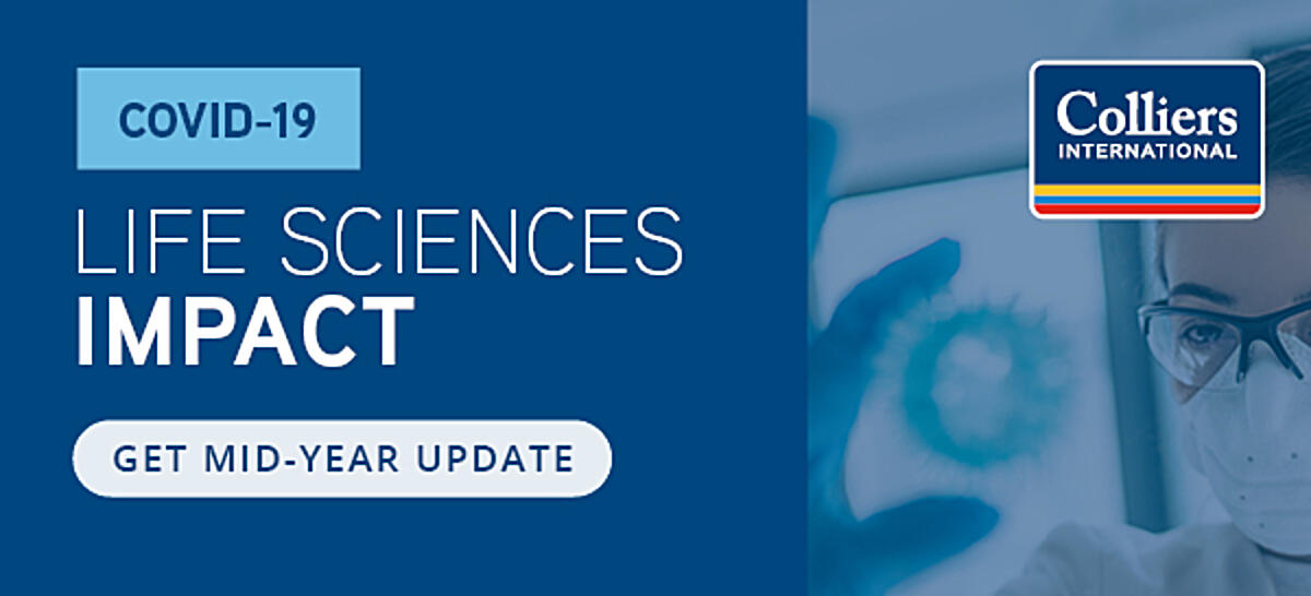 Get mid-year update: COVID-19 Life Sciences Impact whitepaper by Colliers